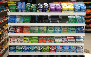Wrigley Gum Final Shelf