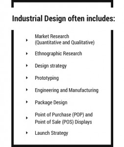 Industrial Design often includes
