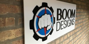 BOOM Designs banner logo